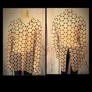 Lane Bryant 22/24 Polka dot blouse